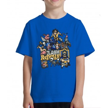Camiseta Clash Royale Niño