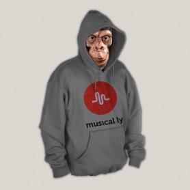 Sudadera Musical.ly