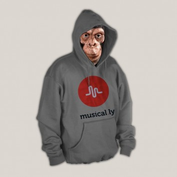 Sudadera Musical.ly