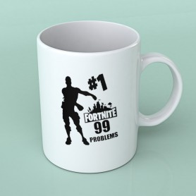 Taza Fortnite 99 Problems