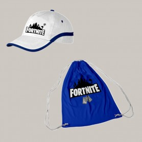 Pack Azul Fortnite Gorra +...