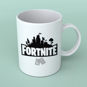 Taza Fortnite Logo