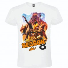 Camiseta Fortnite Season 8