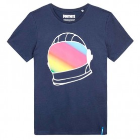Camiseta Fortnite Helmet Blue
