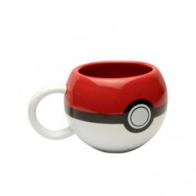 Taza 3D Pokeball Pokemon