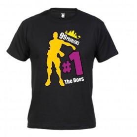 Camiseta 99 Problems The Boss