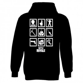 Sudadera Battle Royale Niño
