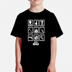 Camiseta Battle Royale Niño