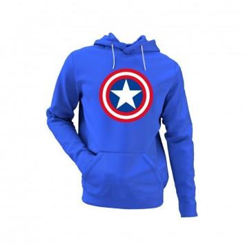 Sudadera Capitán América Logo años 80 Niño