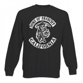 Sudadera Sons of Anarchy sin Capucha