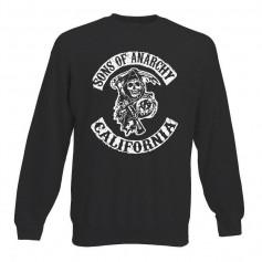 Sudadera Sons of Anarchy sin Capucha