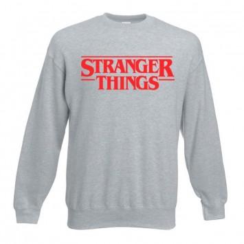 Sudadera Stranger Things Logo sin Capucha