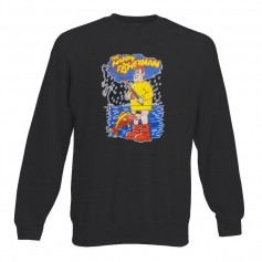 Sudadera The Happy Fisherman sin Capucha