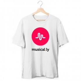 Camiseta Musical.ly