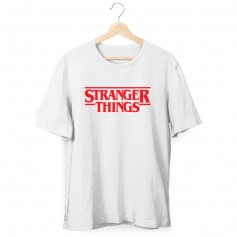 Camiseta Stranger Things Logo Niño