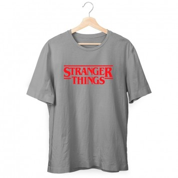 Camiseta Stranger Things Logo Niño