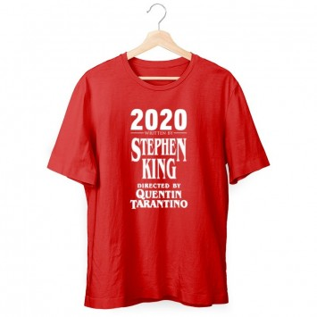 Camiseta 2020 Written Stephen King by Tarantino