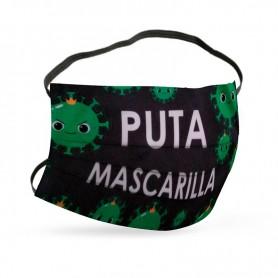 Mascarilla Puta Mascarilla Virus