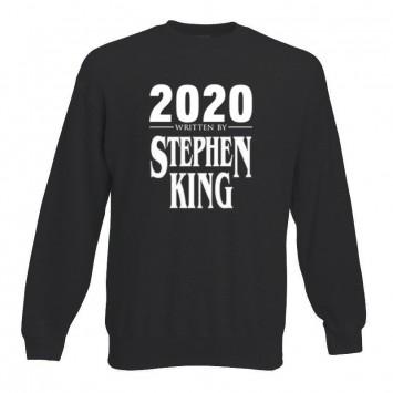 Sudadera 2020 Written Stephen King sin capucha