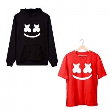 Oferta Sudadera Marshmello niño + Camiseta Marshmello niño