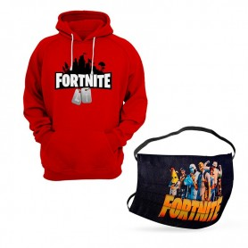 Oferta Sudadera Fortnite Niño + Mascarilla Fortnite