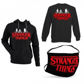 Oferta Sudadera Stranger Things + Sudadera Stranger Things sin Capucha +Mascarilla Stranger Things