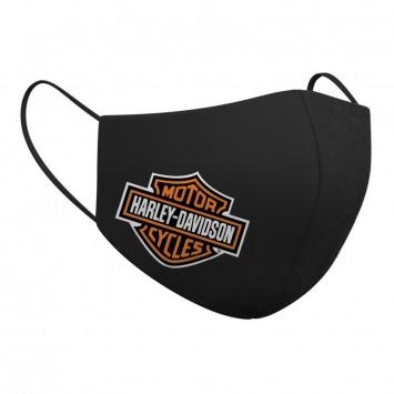 Mascarilla Harley-Davidson Black