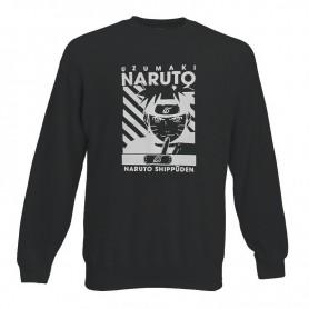 Sudadera Naruto Uzumaki Sin Capucha