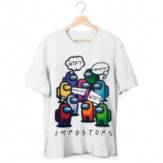 Camiseta Among Us WTF Niño