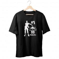 Camiseta Fortnite 99 Problems Niño
