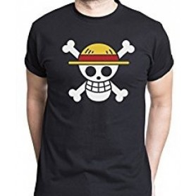 Camiseta One Piece Bandera...