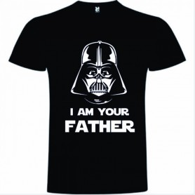 CAMISETA I'M YOUR FATHER NEGRA