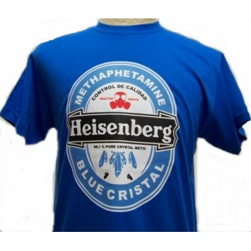 Camiseta Heisenberg Breaking Bad