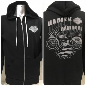 Sudadera Harley-Davidson con Cremallera