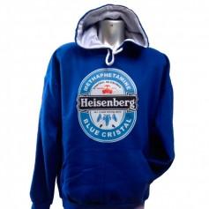 Sudadera Heisenberg Azul Breaking Bad