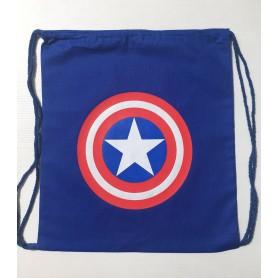 Mochila Algodón Capitán América
