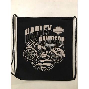 Mochila Algodón Harley Davidson
