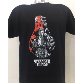 Camiseta Stranger Things face