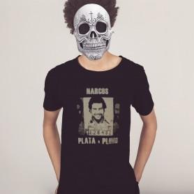 Camiseta Narcos Plata o...