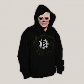 Sudadera Bitcoins