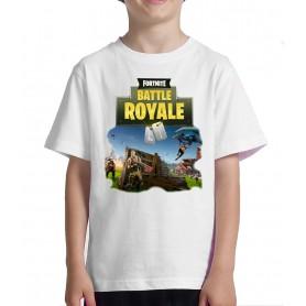 Fortnite Camiseta Niño BATTLE ROYALE