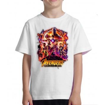 Infinty War Camiseta para niño Vengadores