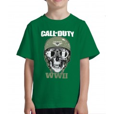 Camiseta Call of Duty Airbone WWII Niño