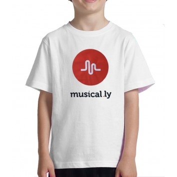 Camiseta Musical.ly Niño